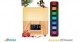 Aroma Öl Diffuser, Y.F.M 300ml Holzmaserung Aromatherapie-Maschine Diffusor mit 7 Farben LED