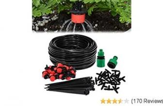 Aiglam Bewässerungssystem Garten, 20m Bewässerungssets 🌿🎋🍀🌻 28% Rabatt