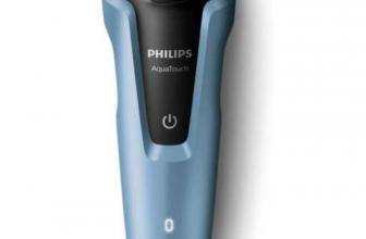 PHILIPS AquaTouch S1070/04 Nass- Trockenrasierer Elektrorasierer Trimmer