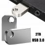 2TB USB 3.0 Metall Memory Stick Mini Flash Drive Speicherstick U-Disk DE