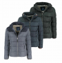 "Tom Tailor Herren Blouson ""Puffer Jacket"" Winterjacke Schwarz Blau Marine"