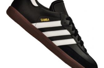 adidas Samba Hallenschuh Leder Schwarz Weiss