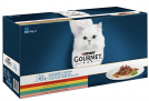 PURINA GOURMET Perle Erlesene Streifen Katzenfutter nass, Sorten-Mix, 60er Pack – 38% Rabatt + 10% Spar-Abo