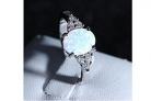 Opal Zirkonia Ring für Damen – 90% Rabatt