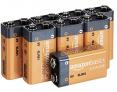 Amazon Basics Everyday Alkalibatterien, 9 V, 8 Stück – 36% Rabatt