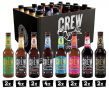 CREW REPUBLIC® Craft Bier Mix Probierset – 32% Rabatt