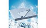Kühlende Sommerdecke 150 x 200cm in Blau – 45% Rabatt