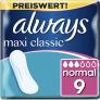 Always Maxi Classic Binden – 62% Rabatt + 10% Spar-Abo