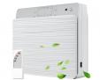 WEISIJI Luftreiniger, Wandmontage & Desktop Air Purifier mit Fernbedienung Keimtötung H13 HEPA Filter – 50% Rabatt