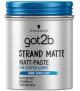 got2b Schwarzkopf Strandmatte Haarstyling Paste Surfer-Look, 1er Pack (1 x 100ml) – 20% Rabatt