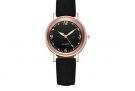 Damen Quarz-Uhr mit Lederarmband – 85% Rabatt