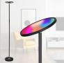 WiFi Intelligente Stehlampe, LED, Smart, Touch/Sprachsteuerung, Funktioniert mit Smartphone, Alexa und Google Home – 50% Rabatt