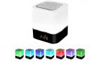 3-in-1 Bluetooth Lautsprecher, Nachtlicht & Lichtwecker in einem – 50% Rabatt