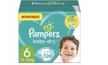 Pampers Windeln Größe 6 (13-18kg) Baby Dry – 23% Rabatt