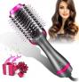 Mueasy 5 IN 1 Upgrade Warmluftbürste Hair Dryer Volumizer – 55% Rabatt