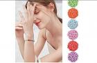 Buchstabenperlen für Armbänder im 100er Pack – 70% Rabatt